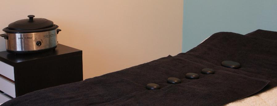 Hot Stones Therapy.